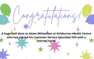 Well Done Adam Whitwham!